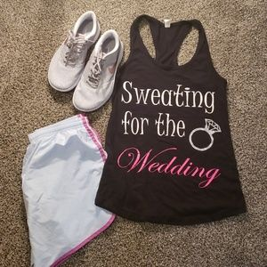 Tops - Bride Workout Tank